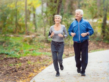 Regular physical activity, including lighter intensity activities such as walking, is associated with reduced risk of hip and total fracture in postmenopausal women.